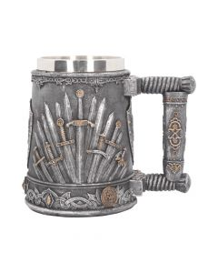Sword of the King Tankard 14cm Medieval Articles en Vente Premium Range