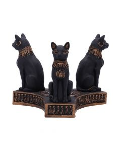 Bastet's Honour Crystal Ball Holder 12.7cm Cats Crystal Balls & Holders Premium Range