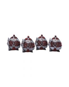 Sir Real 8.5cm (Set of 4) Medieval Médiéval Premium Range
