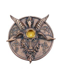 Baphomet's Prayer Incense and Candle Holder 12.6cm Baphomet New Arrivals Value Range