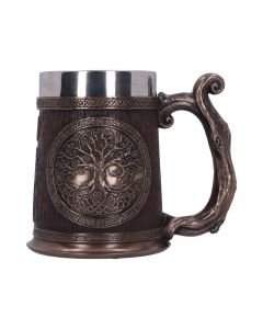 Tree of Life Tankard 16cm Witchcraft & Wiccan Nouveau en stock