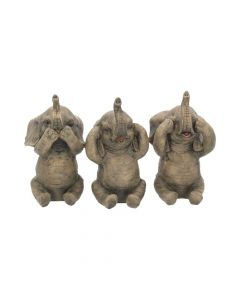 Three Wise Elephants 16cm Elephants Gift Ideas Indéterminé
