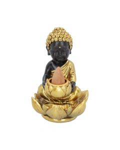 Baby Buddha Backflow Incense Burner 10.3cm Buddhas and Spirituality Backflow Indéterminé
