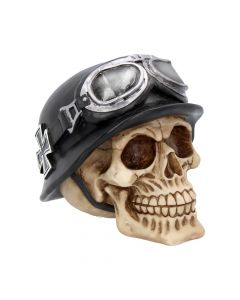 Iron Cross Skull 15.5cm Skulls NN Medium Figurines Value Range
