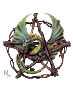 Forest Pentagram Dragon 32.5cm Dragons Artist Dragons Artist Collections