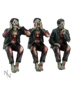 See No, Hear No Speak No Evil Zombies 10cm Zombies Zombies Premium Range