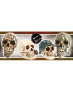 Skull Money Boxes Shelf Talker Display Items & POS Display Items & POS Indéterminé
