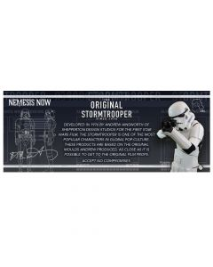 Original Stormtrooper Shelf Talker Display Items & POS Stormtroopers Indéterminé