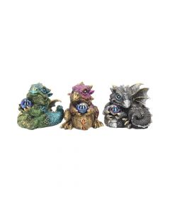 Dragon's Gift (Set of 3) 7cm Dragons Dragons Value Range