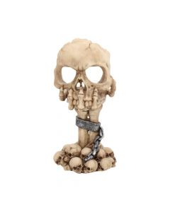 Deliberation Tealight Holder 15.5cm Skulls Skulls Value Range