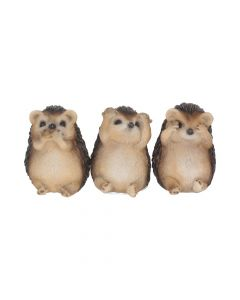 Three Wise Hedgehogs 8.5cm Animals Gift Ideas Value Range