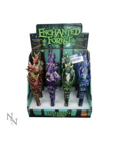 Enchanted Forest Dragon Pens 16cm (Display of 12) Dragons Dragons Value Range