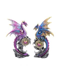 Realm Protectors (Set of 2) 15cm Dragons Stocking Fillers Value Range