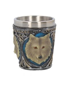 Lone Wolf Shot Glass (Set of 4) 6.5cm Wolves Summer Weekly Sale
