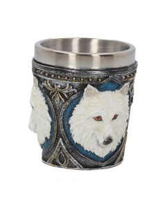 Ghost Wolf Shot Glass (Set of 4) 6.5cm Wolves All Animals