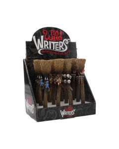 Wild Writers Broomstick Pens 16cm (Display of 12) Witchcraft & Wiccan Wiccan & Witchcraft Value Range