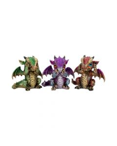 Three Wiselings 8.5cm Dragons Dragons Value Range