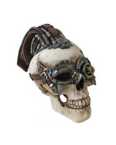Dreadlock Device 18.5cm (Small) Skulls Steampunk Value Range