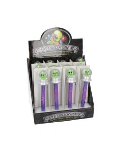 Wild Writers Alien Water Ball Pen 16cm (Set of 12) Sci-Fi Web Offers Value Range