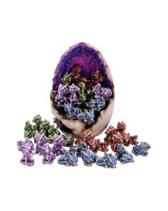 Geode Gathering 36pcs 24.8cm Dragons Dragons Value Range