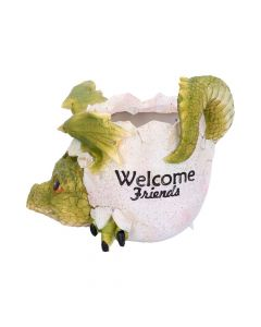 Welcome Friends Pot 17cm Dragons Easter Value Range