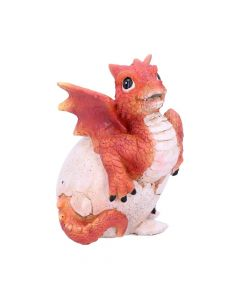 Ruby Hatchling 11cm (Set of 4) Dragons Easter Value Range
