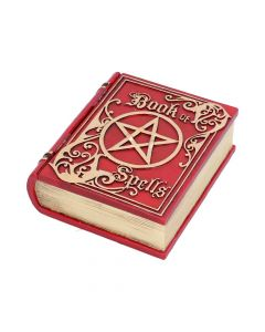 Book of Spells Red 15.5cm Witchcraft & Wiccan Wiccan & Witchcraft Value Range