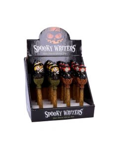 Spooky Writers Witch Pens (Display of 12) 16cm Witchcraft & Wiccan Wiccan & Witchcraft Value Range