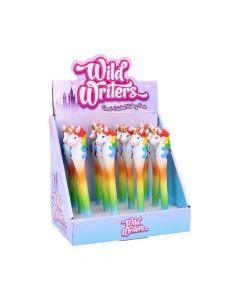 Wild Writers Rainbow Unicorn Pens (Display of 12) Unicorns Articles en Vente Value Range