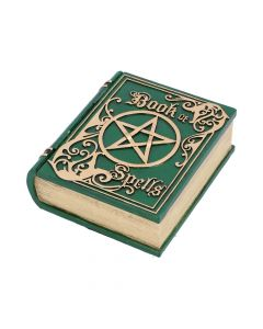 Book of Spells Green 15.5cm Witchcraft & Wiccan Wiccan & Witchcraft Value Range