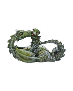 Sweetest Moment (Green) 20.2cm Dragons Dragons Value Range