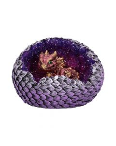 Geode Home (Red) 10.7cm Dragons Realm of Dragons