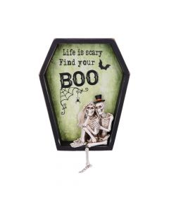 Life is Scary Find Your Boo 31.3cm Skeletons Squelettes