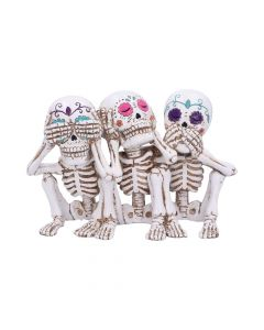 Three Wise Calaveras 20.3cm Skeletons Skeletons Value Range