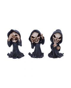 Three Wise Reapers 11cm Reapers See No, Hear No, Speak No Evil Value Range