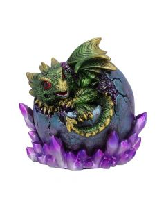 Emerald Hatchling Glow 12.5cm Dragons New in Stock Value Range