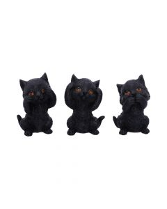 Three Wise Kitties 8.8cm Cats New Product Launch Value Range