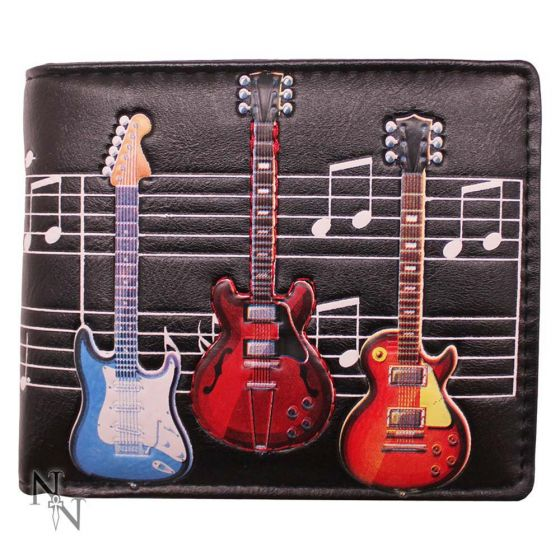Wallet - Electric Guitars 11cm Indéterminé Wallets Premium Range