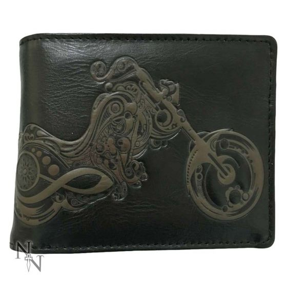 Wallet - Bike 11cm Bikers Wallets Premium Range