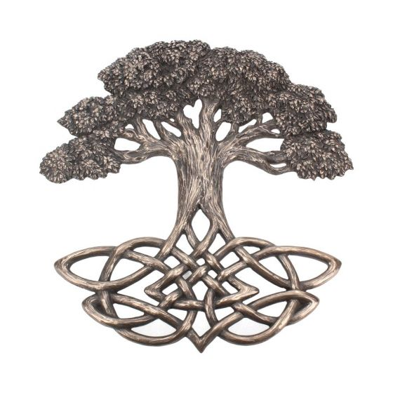 Tree of Life Wall Plaque 33cm Witchcraft & Wiccan Easter Premium Range