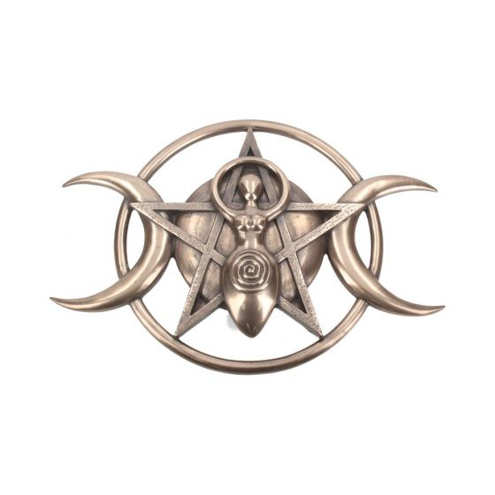 Triple Moon Goddess Plaque 30cm Witchcraft & Wiccan Witchcraft & Wiccan
