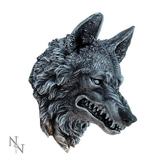 Wolf Wall Plaque 30cm Wolves Loups