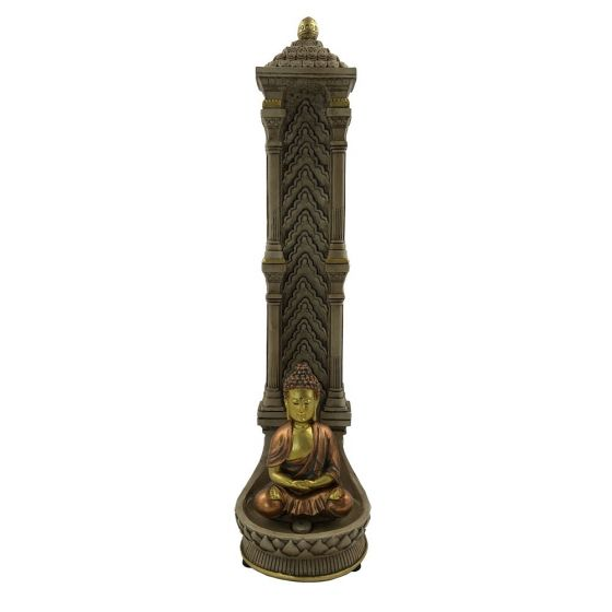 Temple of Peace Incense Holder 26.8cm Buddhas and Spirituality Incense Holders Value Range