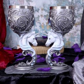 Enchanted Hearts Goblets 18.5cm (Set of 2)