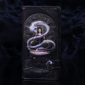 The Summoning Embossed Purse (AS) 18.5cm