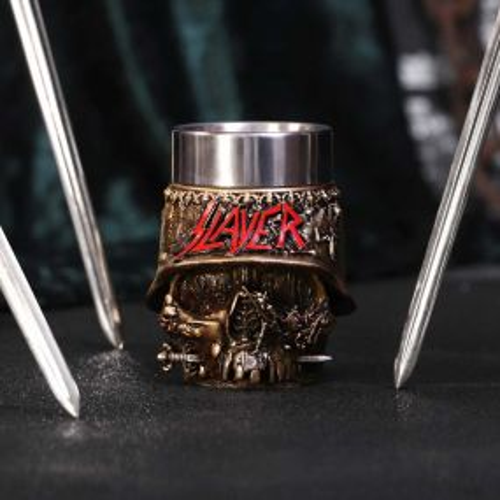 Slayer Skull Shot Glass 9cm