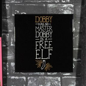 Harry Potter - Dobby is a Free Elf Crystal Clear