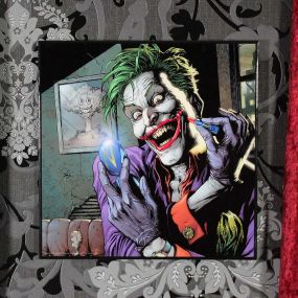 Batman - The Joker Doomsday Clock Crystal Clear