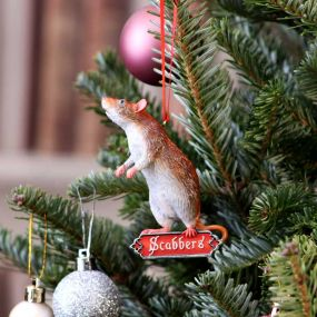 Harry Potter - Scabbers Hanging Ornament 9cm