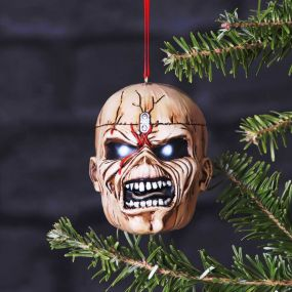 Iron Maiden Trooper Eddie Hanging Ornament